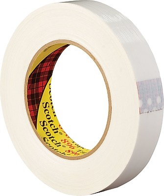 """3M 1/2"""" x 60 yds. Filament Tape 897, 12/Case"""