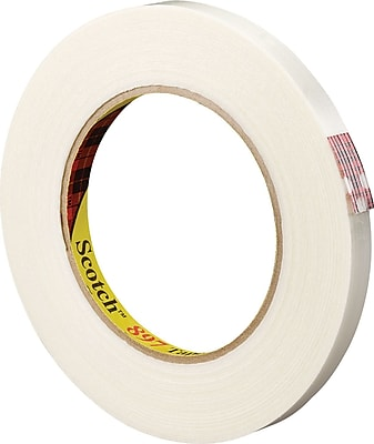 """3M 3/8"""" x 60 yds. Filament Tape 897, 12/Case"""