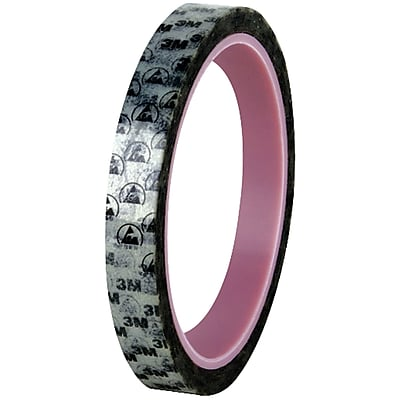 """3M 40PR Anti-Static Printed Tape, 2.2 Mil, 1/2"""" x 72 yds., Printed, 18/Case (T96340PR)"""