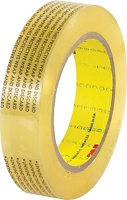 """3M 665 Double Sided Film Tape, 1"""" x 72 yds., 6/Pack"""