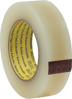 """3M 8886 Stretchable Tape, 1 1/2"""" x 60 yds., 6/Pack"""