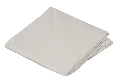 """DMI 36"""" x 80"""" Zippered Plastic Protective Mattress Cover For Hospital Beds, White, Dozen"""