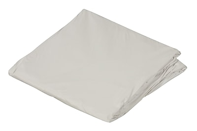 """DMI 36"""" x 80"""" Zippered Plastic Protective Mattress Cover For Hospital Beds, White"""