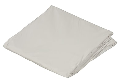 """DMI 39"""" x 75"""" Twin Zippered Plastic Protective Mattress Cover For Home Beds, White"""