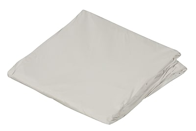 """DMI 54"""" x 75"""" Full Zippered Plastic Protective Mattress Cover For Home Beds, White"""