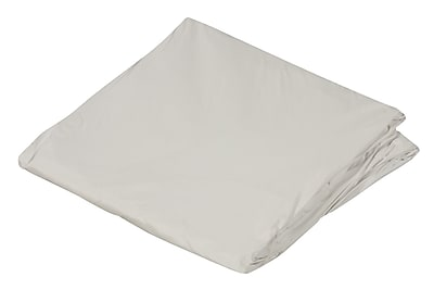 """DMI 60"""" x 80"""" Queen Contoured Plastic Protective Mattress Cover For Home Beds, White"""