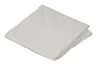 """DMI 60"""" x 80"""" Queen Zippered Plastic Protective Mattress Cover For Home Beds, White"""