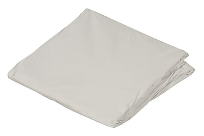 """DMI 78"""" x 80"""" King Contoured Plastic Protective Mattress Cover For Home Beds, White"""