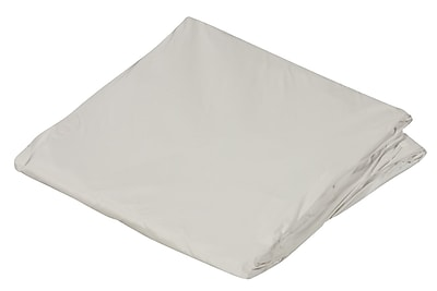 """DMI 78"""" x 80"""" King Zippered Plastic Protective Mattress Cover For Home Beds, White"""