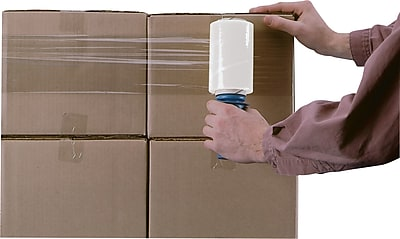 """Goodwrapper Banding Wrap, 5"""" x 1,000', 80 gauge, 4 rolls/Case"""
