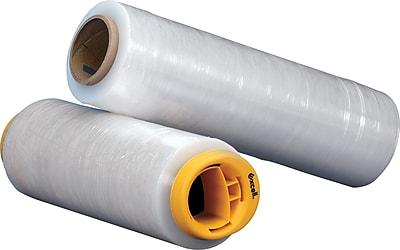 hand stretch wrap film blown 51 gauge 18 x 1500 clear 4 rollscase xb45713 - Stretch Wrap Film