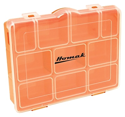 Homak Plastic Storage Box