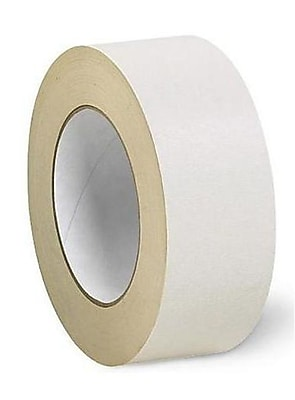 """Intertape #592 2"""" x 36 yds. Double-Coated Crepe Tape, Beige, 24/Pack"""