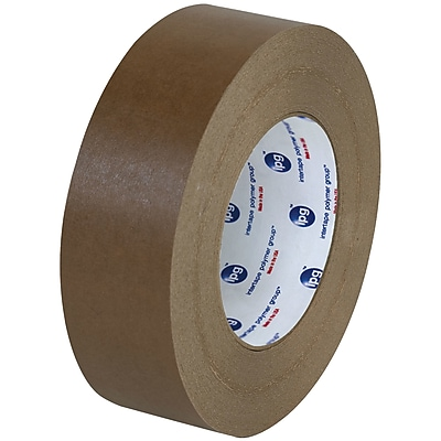 """Partners Brand Industrial 530 Flatback Tape, 1 1/2"""" x 60 yds., Brown, 6/Case (T9465306PK)"""