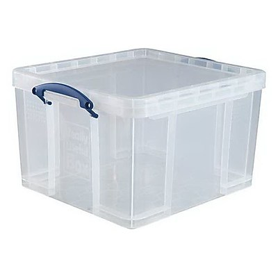 Really Useful 42 L Storage Box, Clear (42L CL)