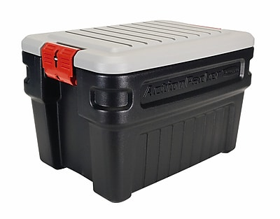 Rubbermaid 24 gal Action Packer Storage Box