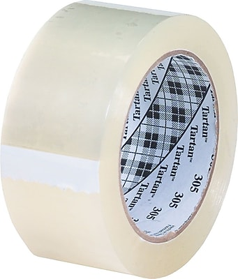 """Scotch #302 Acrylic Packing Tape, 2""""x110 yds., 12/Case"""
