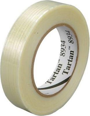 """Scotch Tartan #8934 Utility Grade Filament Tape, 1""""x60yds"""