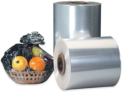 """Staples 30"""" x 60 Gauge x 4375' Polyolefin Shrink Film, 1 Roll"""