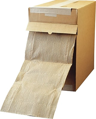 """Staples Padded Paper Wadding, Dispenser Box, 175'L x 12""""W (686928)"""