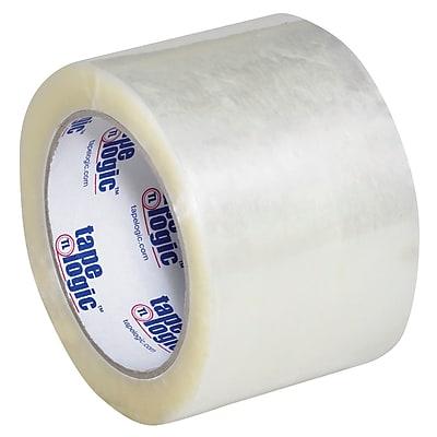 """Tape Logic #600 Hot Melt Tape, 3"""" x 110 yds., Clear, 6/Case (T9056006PK)"""