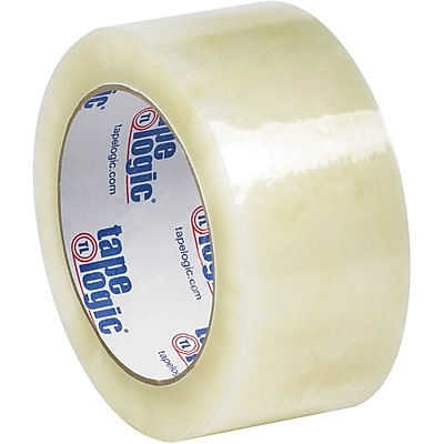 """Tape Logic #6651 Cold Temperature Tape, 1.7 Mil, 2"""" x 110 yds., Clear, 6/Case"""