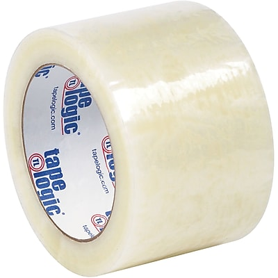 """Tape Logic #6651 Cold Temperature Tape, 1.7 Mil, 3"""" x 110 yds., Clear, 24/Case"""