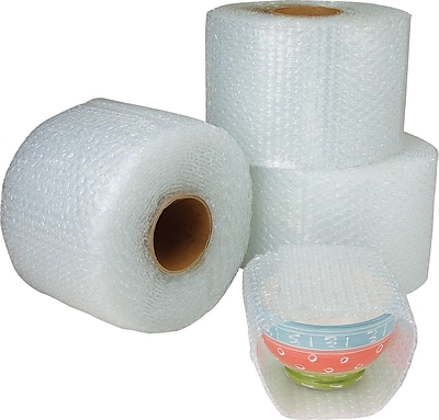 """The Packaging Wholesalers 3/16"""" 48"""" x 300' Slit 24"""" Perfed 12"""" Cohesive Bubble, 2 Rolls/Bundle"""