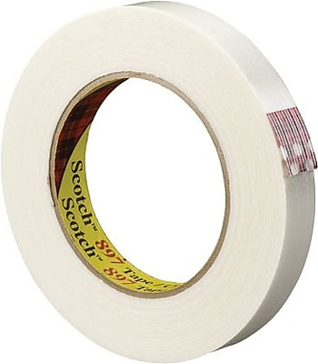"""Universal Filament Tape, 3"""" Core, 3/4"""" x 60 yds., 1/Rl"""