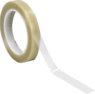 """3M 3/4"""" x 36 yds. Solid Vinyl Safety Tape 471, Clear, 3/Pack"""