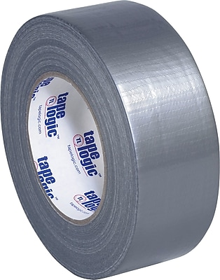 """Tape Logic Economy Cloth Duct Tape, Silver, 2"""" x 60 Yards, 8.0 Mil, 3/Pack"""