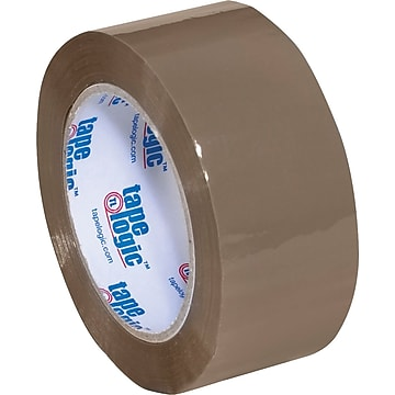 "2"" x 110 yds. Tan Tape Logic™ 2 Mil Acrylic Tape, 36/Case"
