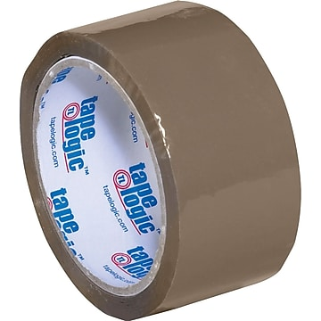 "2"" x 55 yds. Tan Tape Logic™ 1.8 Mil Acrylic Tape, 36/Case"