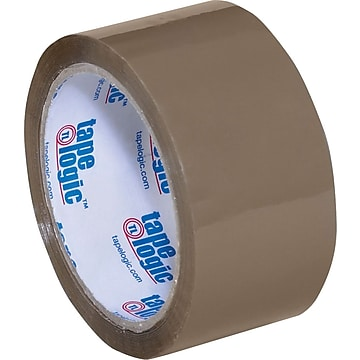 "2"" x 55 yds. Tan Tape Logic™ 2 Mil Acrylic Tape, 36/Case"