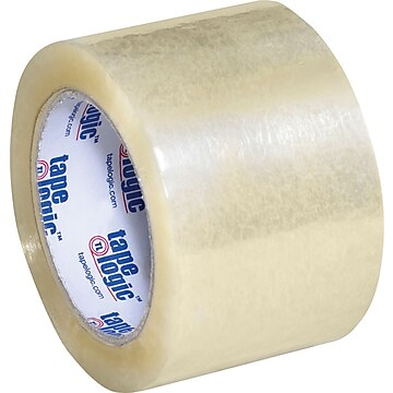 "3"" x 110 yds. Clear Tape Logic™ 1.8 Mil Acrylic Tape, 24/Case"
