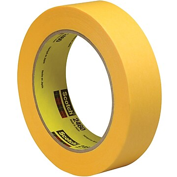 "3M 2460 Flatback Tape, 3.3 Mil, 1"" x 60 yds., Gold, 36/Case (T9452460)"