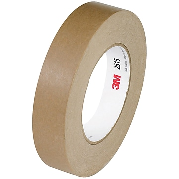 "3M 2515 Flatback Tape, 6.7 Mil, 3/4"" x 60 yds., Tan, 12/Case (T944251512PK)"