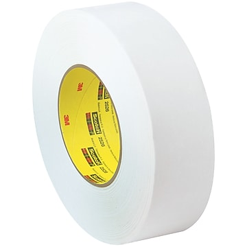 "3M 2526 Flatback Tape, 9.8 Mil, 1"" x 60 yds., White, 36/Case (T9452526)"
