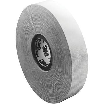 """3M 27 Glass Cloth Electrical Tape, 7 Mil, 1"""" x 60 yds., White, 3/Case (T9650273PK)"""