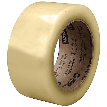 "3M 3073 Carton Sealing Tape, 2.6 Mil, 2"" x 110 yds., Clear, 36/Case (T9023073)"