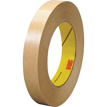 """3M 465 Adhesive Transfer Tape- Hand Rolls, 3/4"""" x 60 yds., 6/Pack,Size: med"""
