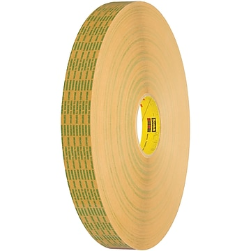 "3M 465XL Adhesive Transfer Tape, Hand Rolls, 2.0 Mil, 3/4"" x 60 yds., Clear, 6/Case (T964465XL6PK)"