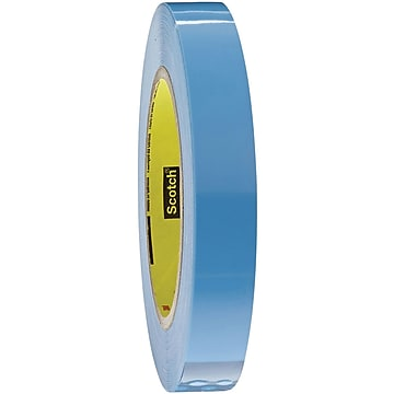 """3M 8896 Strapping Tape, 4.6 Mil, 1"""" x 60 yds., Blue, 12/Case (T915889612PK)"""