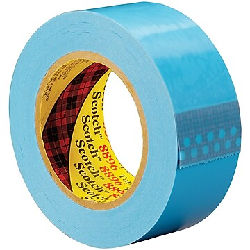 "3M 8896 Strapping Tape, 4.6 Mil, 2"" x 60 yds., Blue, 24/Case (T9178896)"