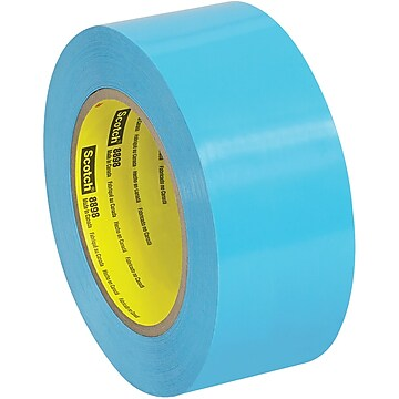 """3M 8898 Tensilized Poly Strapping Tape, 4.6 Mil, 2"""" x 60 yds., Blue, 12/Case (T917889812PK),Size: small"""