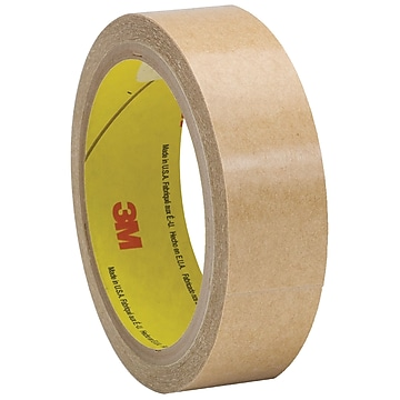 "3M 927 Adhesive Transfer Tape, Hand Rolls, 2.0 Mil, 1"" x 60 yds., Clear, 6/Case (T9659276PK)"