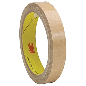 "3M 927 Adhesive Transfer Tape, Hand Rolls, 2.0 Mil, 1/2"" x 60 yds., Clear, 6/Case (T9639276PK)"