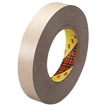 """3M 9471 Adhesive Transfer Tape, Hand Rolls, 2.0 Mil, 1"""" x 60 yds., Clear, 6/Case (T96594716PK)"""