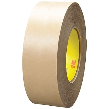 "3M 9485PC Adhesive Transfer Tape, Hand Rolls, 5.0 Mil, 2"" x 60 yds., Clear, 6/Case (T96794856PK)"