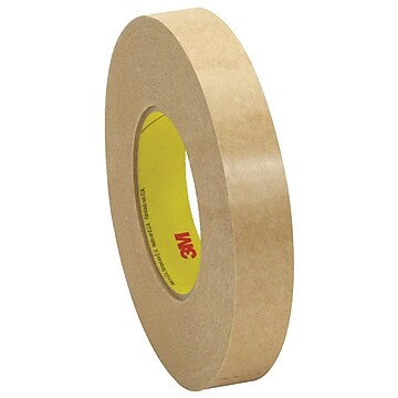 """3M 9498 Adhesive Transfer Tape, Hand Rolls, 2.0 Mil, 1"""" x 120 yds., Clear, 6/Case (T96594986PK)"""